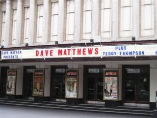 Dave Matthews Hammersmith Apollossa
